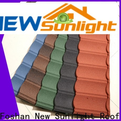 latest wholesale metal roofing supply for garden construction