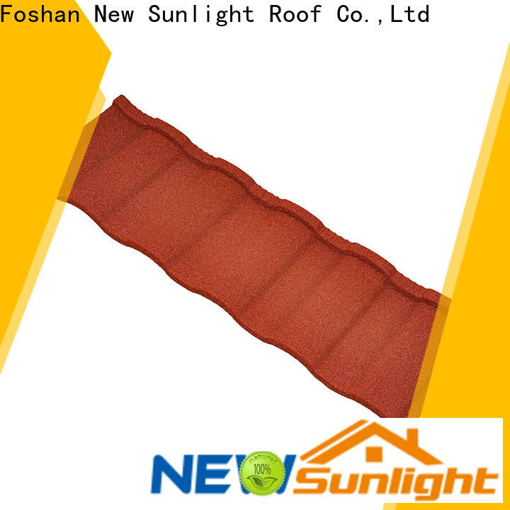 New Sunlight Roof roofing coated metal roofing supply for Farmhouse