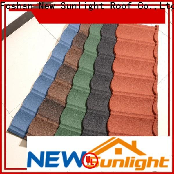 New Sunlight Roof tile ceramic tile roofing for industrial workshop