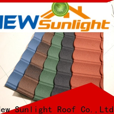 New Sunlight Roof latest ceramic tile roofing company for garden construction