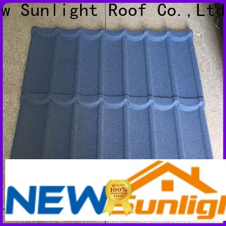 New Sunlight Roof coated painted steel roofing for business for greenhouse cultivation