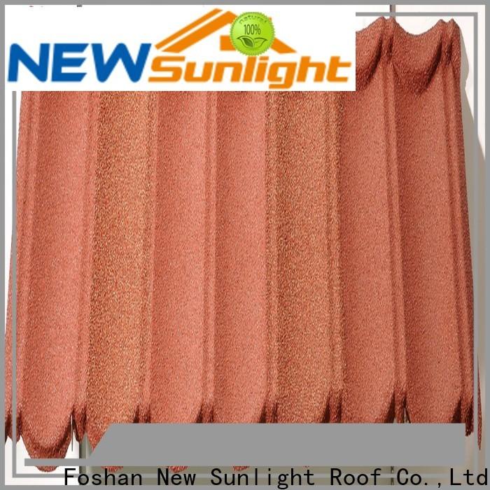 New Sunlight Roof composite shingles factory for garden construction