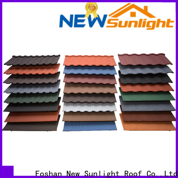 New Sunlight Roof stone metal tiles roof for Office
