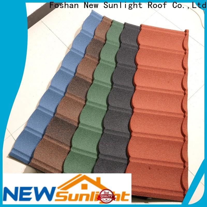 New Sunlight Roof stone decra lightweight roof tiles for business for garden construction