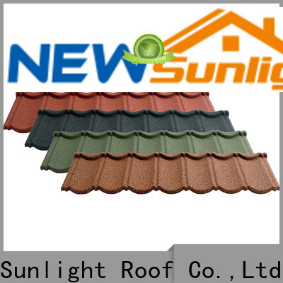 top steel roofing companies coated manufacturers for garden construction