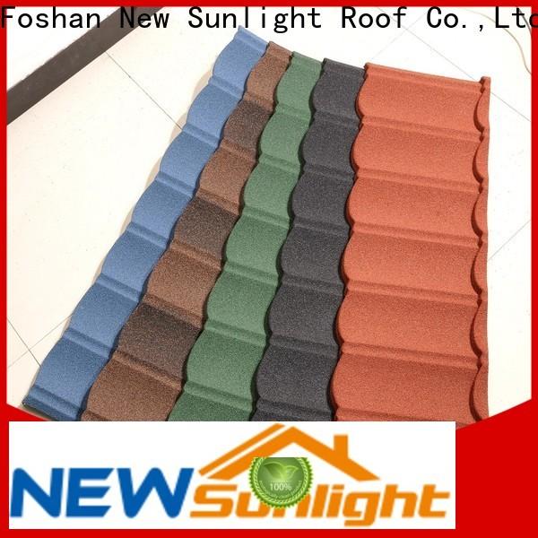 New Sunlight Roof custom decra tiles for warehouse market