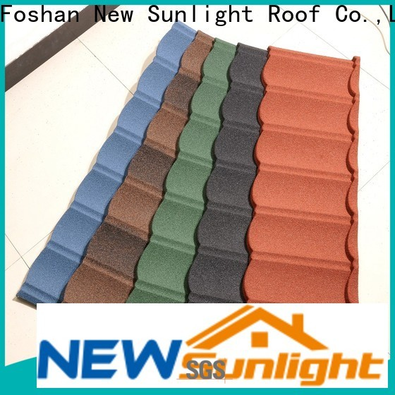 latest metal shingle manufacturers tile suppliers for garden construction