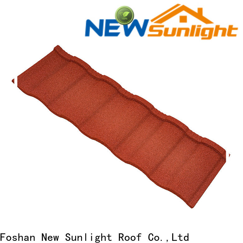 New Sunlight Roof wholesale wholesale steel roofing sheets supply for Farmhouse