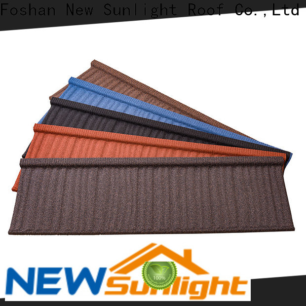 New Sunlight Roof stone composite roofing suppliers for Building Sports Venues