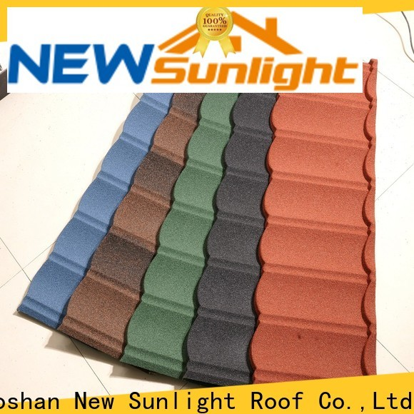 custom stone coated steel shingles for business for Building Sports Venues