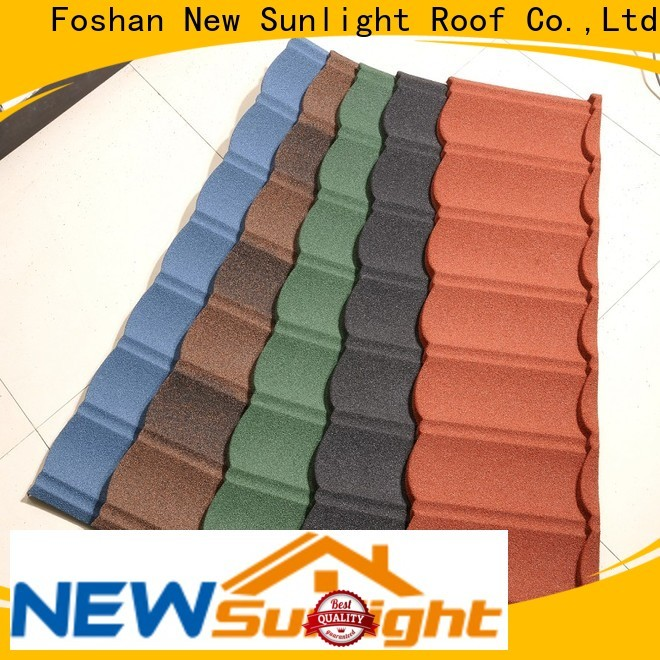 stone metal roof metal company for warehouse market