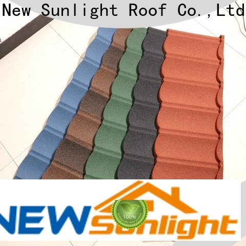 New Sunlight Roof wholesale shingle look metal roof company for warehouse market