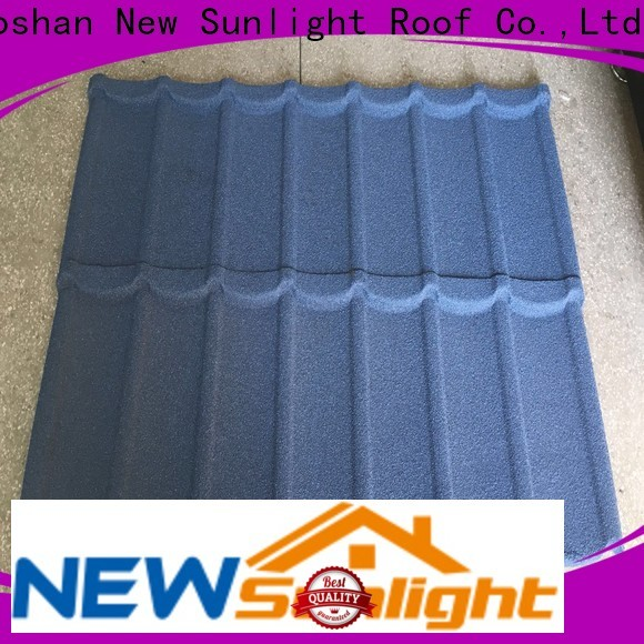 New Sunlight Roof best metal shake roof factory for warehouse market