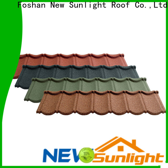 New Sunlight Roof residential metal roofing installation factory for industrial workshop