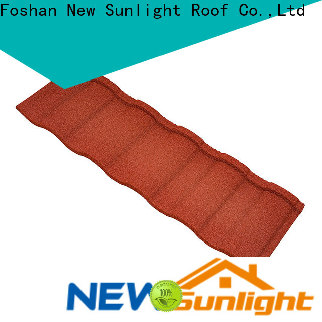 New Sunlight Roof roman metal roofing wholesale for Leisure Facilities