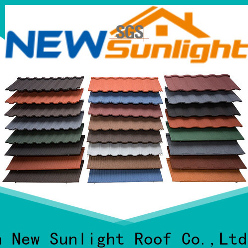 New Sunlight Roof top wholesale metal roofing materials for Building Sports Venues