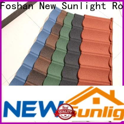 New Sunlight Roof custom wholesale metal roofing supply for Hotel