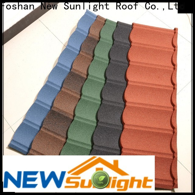 New Sunlight Roof latest metal roofing manufacturers for industrial workshop