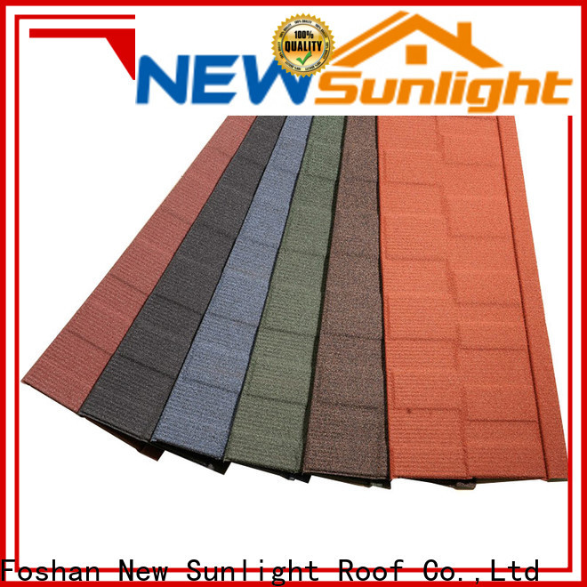 New Sunlight Roof new china roofing tiles company for Building Sports Venues