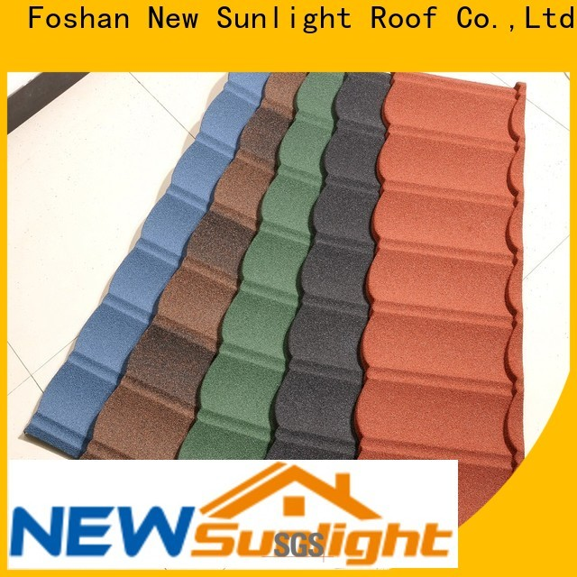 New Sunlight Roof wholesale metal roofing manufacturers for Hotel