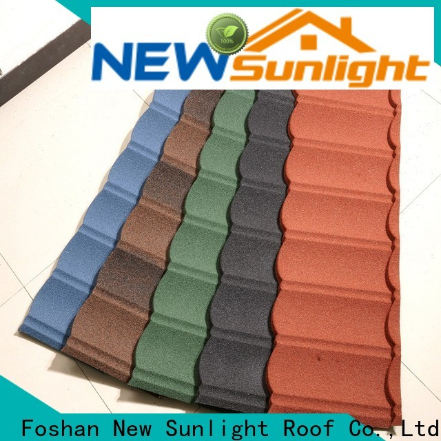 New Sunlight Roof roofing pressed steel roof tiles supply for greenhouse cultivation