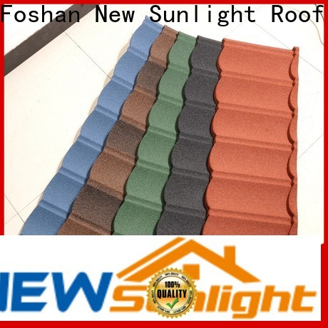 best stone coated tiles roofing company for garden construction