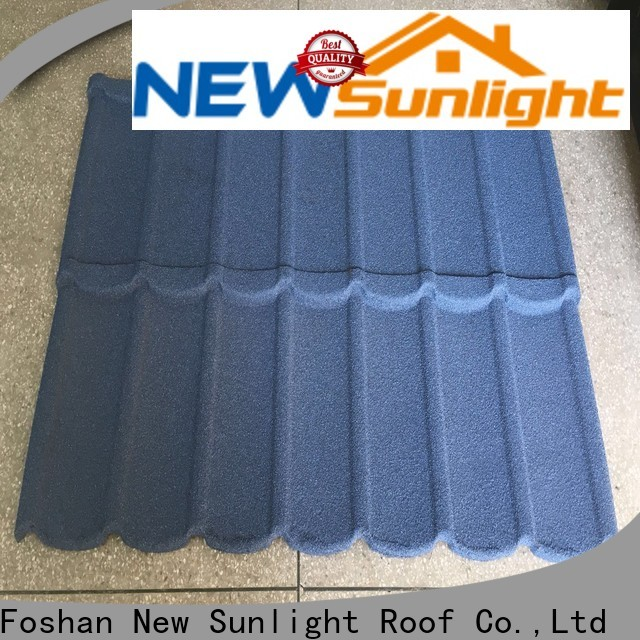 New Sunlight Roof high-quality coated steel roofing suppliers for industrial workshop