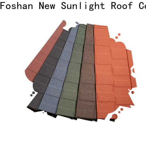 New Sunlight Roof metal roof shingles factory factory for Villa