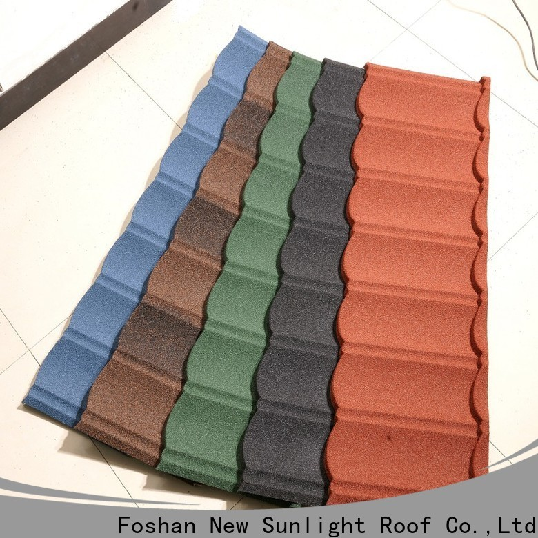 New Sunlight Roof high-quality wholesale metal roofing factory for School