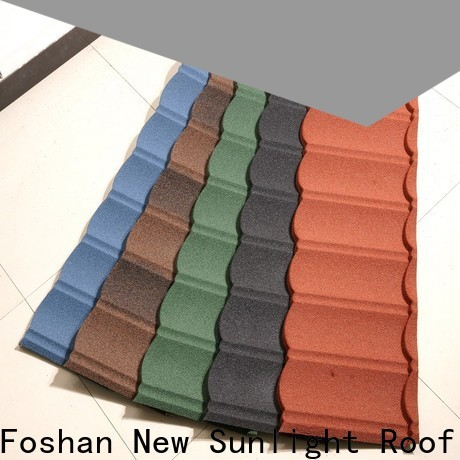 New Sunlight Roof wholesale new roof tiles for garden construction