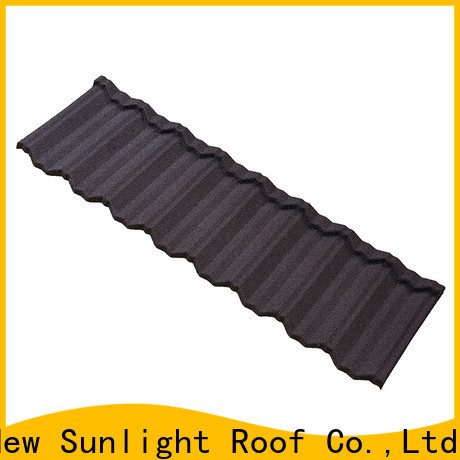 New Sunlight Roof stone residential roofing materials manufacturers for School