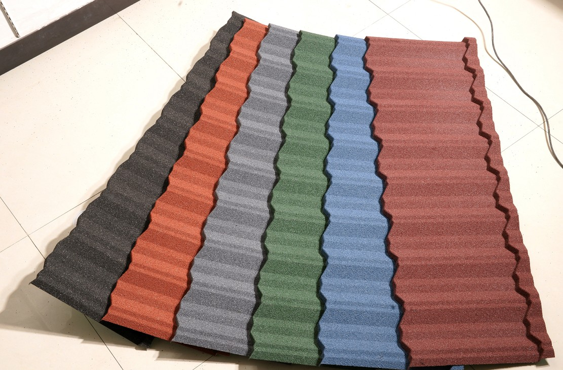 New Sunlight Roof colorful stone coated metal shingles for business for greenhouse cultivation-1