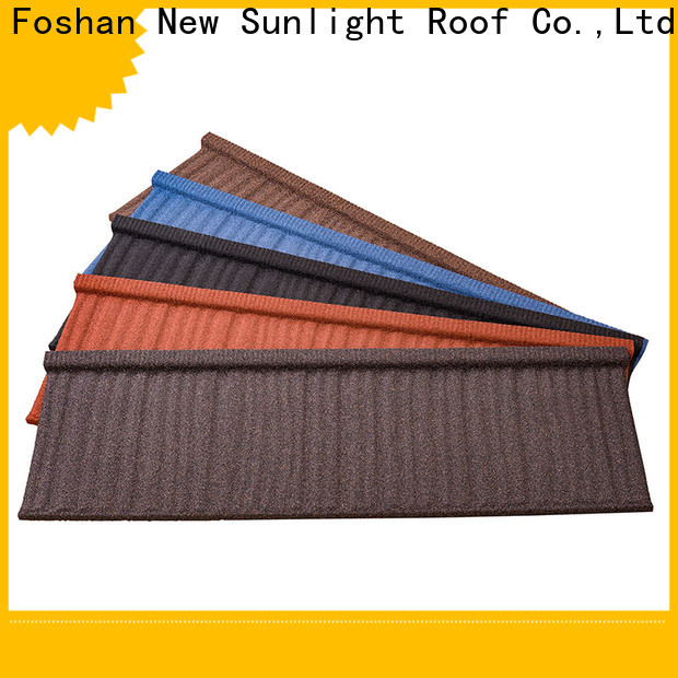 new stone coated aluminum roofing shake company for Office