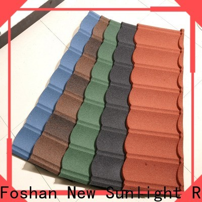 New Sunlight Roof stone coated steel shingles for business for Villa