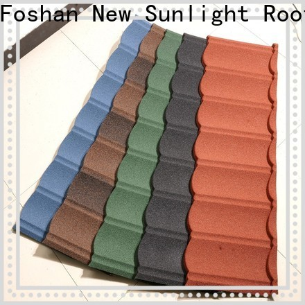 New Sunlight Roof coated residential metal roofing installation factory for warehouse market