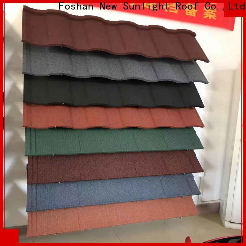 New Sunlight Roof coated roof tile suppliers for business for greenhouse cultivation
