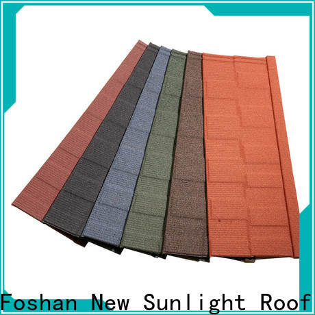 high-quality shingle roof tiles stone supply for Building Sports Venues