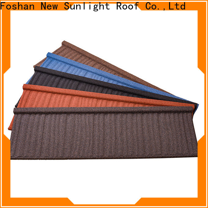 New Sunlight Roof colorful wholesale building materials suppliers for Villa