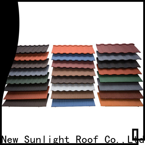 wholesale corrugated metal roofing rainbow supply for Villa