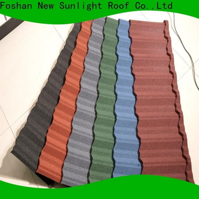 New Sunlight Roof top aluminum roof company for Villa