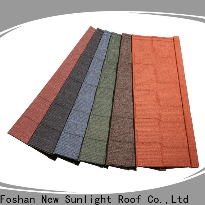 high-quality roof shingle companies materials for Villa