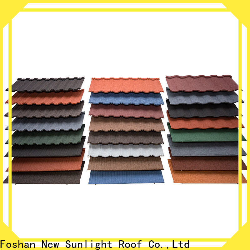 New Sunlight Roof material lightweight roofing sheets supply for Hotel
