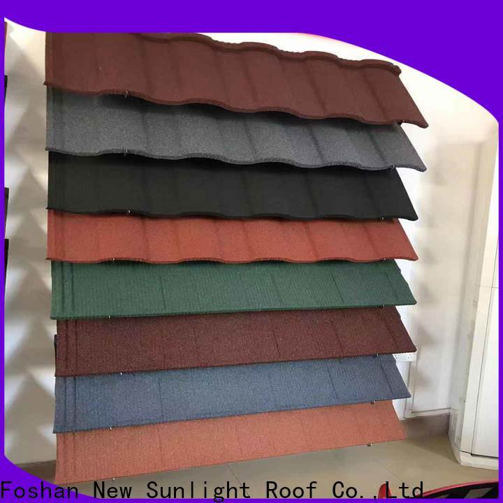 New Sunlight Roof top types of metal roofing systems for business for warehouse market