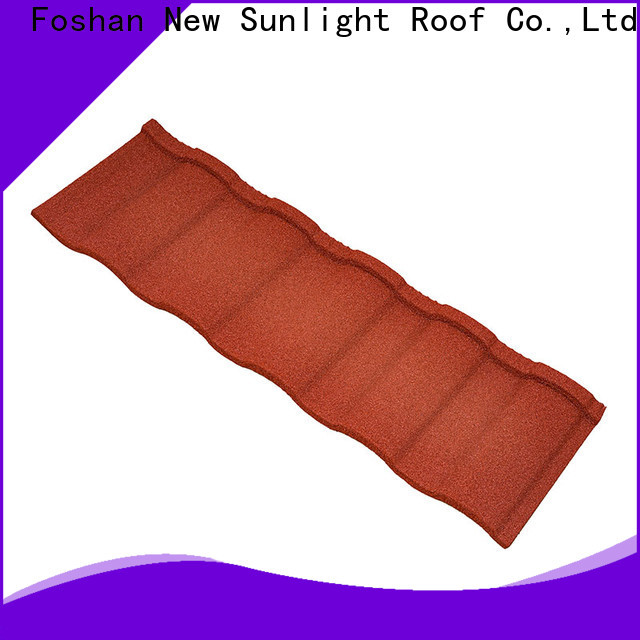 New Sunlight Roof construction composite roof shingles factory for Courtyard
