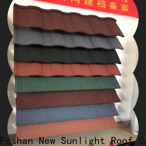 New Sunlight Roof best metal roof shingles manufacturers supply for warehouse market