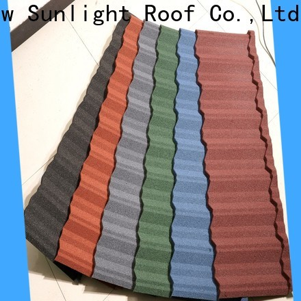 custom stone coated metal roof tiles tiles suppliers for Villa