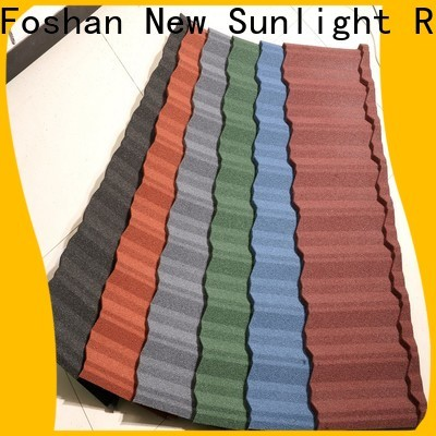 New Sunlight Roof latest metal roofing materials for business for School