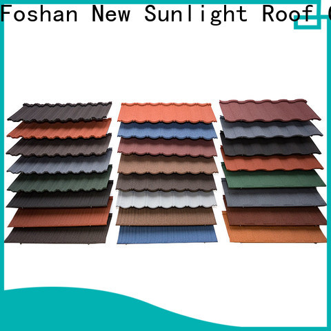 custom metal tile roof shingles roofing suppliers for Office