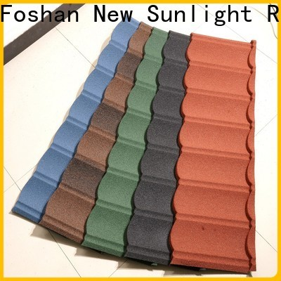 New Sunlight Roof latest metal roofing supplier for industrial workshop