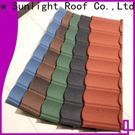 New Sunlight Roof tile spanish metal roof for greenhouse cultivation